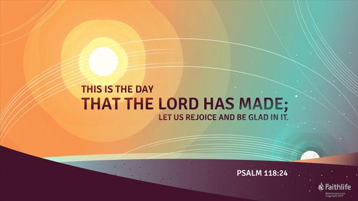Weekly Word of Encouragement: 04/28